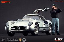 1/18 Hans Herrmann figure VERY RARE !!! for 1:18 Autoart Exoto CMC