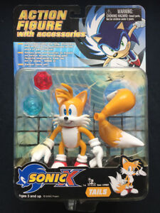 Sega Sonic X Toy Island The Hedgehog Tails Action Figure With Accessories 2000