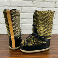 Extra Rare Sample Authentic Louis Vuitton Moon Winter Boots 38 fits 8 US 6 UK