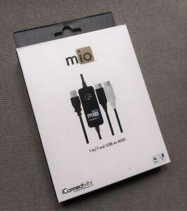 iConnectivity Mio USB MIDI Interface - new in box!