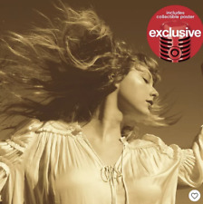 Taylor Swift Fearless (Taylor's Version) Target Exclusive CD & Poster PREORDER