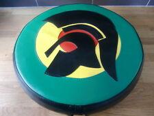 Large Trojan Head Jamaican Target Vespa/Lambretta Wheel Cover