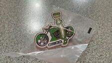 LAPEL PIN COLLECTIBLE  GECKO FROM GEICO MOTORCYCLE