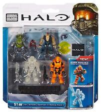 Mega Bloks Halo Spartan IV 4 Battle Pack II, 97208 nouvelles et scellé.