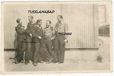 Memel ? U-Boot Schule Soldaten Uniform Baracken Foto