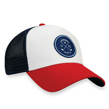 New 2017 Callaway Golf Trucker Mesh Snapback Adjustable Hat/Cap COLOR: Red/Navy