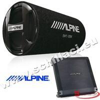 Kit subwoofer tubo 30 cm 1000 watts + Amplificatore Alpine BBX-F600 +SWT-12S4