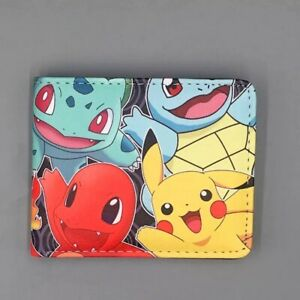 Pokemon Wallet Pikachu and Friends Nintendo Black Coins Cards Notes