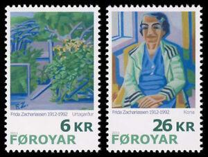 Faroe Islands 2011, Art, Paintings by Frida Zachariassen, UNM / MNH