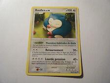 Ronflex - Niv.40 - 100PV - 81/111 - Pokemon Platine Rivaux Emergeants