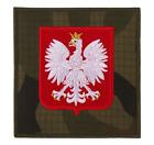 150 POLISH WHITE EAGLE PATCH 3.7INCH MILITARY FORCES POLAND CAMO WZ2010