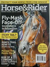 Horse & Rider May 2016 Fly Mask Face Off Moody Mare Cowgirl FREE SHIPPING sb