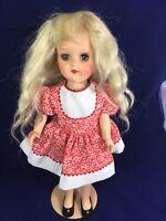 """Vintage Ideal Toni Doll Walker 16"""" 1949"""