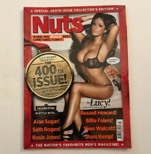 NUTS MAGAZINE | NOVEMBER 2011 | THE 400th ISSUE | LUCY PINDER | RARE ISSUE