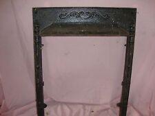 Vintage Victorian Cast Iron FIREPLACE SURROUND Architectural Salvage Frame