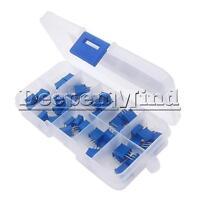 10Value Assortment 3296W Multiturn Variable Resistor Trimmer Potentiometer Kit