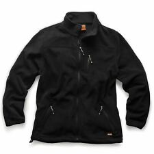 Scruff Water-Resistant Worker Fleece Black Jacket Men's Workwear Work S - XXL