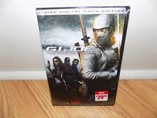 G.I. Joe: The Rise of Cobra (DVD, 2009, 2-Disc Set, Includes Digital Copy) NEW!