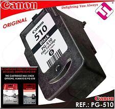 TINTA NEGRA CANON PG 510 ORIGINAL CARTUCHO NEGRO IMPRESORA PG-510 ECONOMICO