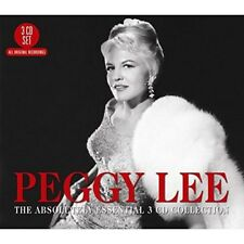 PEGGY LEE - THE ABSOLUTELY ESSENTIAL 3CD COLLECTION 3 CD NEW+