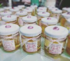 Barattolini miele personalizzati per  matrimonio, bomboniera, segna posto