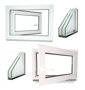 Kunststoff Garagenfenster Nebenraum Kellerfenster Dreh Kipp 2 3 Fach Verglasung