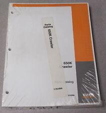 Case 650K Crawler Tractor Parts Manual Catalog 7-7610NA 2003