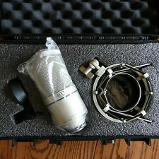 MXL 990 Condenser Cable Professional Microphone w/ Shock Mount & Hard Case