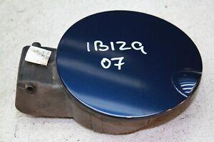 Seat Ibiza 6L1 Bj.07 Fuel Tank Cap Flap LW5U Adablau, Blue Metallic 6L6809905G