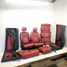 Red Leather Interior As Pictured (Ref.1298) Renault Megane Coupe MK3 1.6