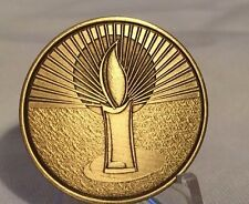 It Is Better To Light A Candle Than Curse The Darkness Medallion Chip Coin
