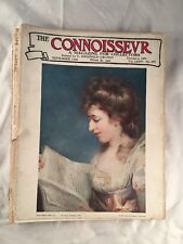 Connoisseur Magazine Back Issue for Collectors September 1926 Vintage Old