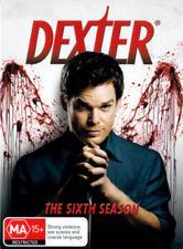 DEXTER (COMPLETE SEASON 6 - DVD SET SEALED + FREE POST)