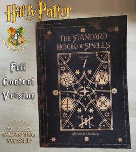 Hermione Granger Standard Book of Spells, Harry Potter, Wizarding World Hogwarts