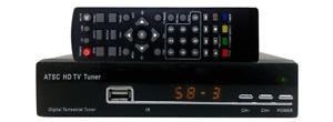 HDTV Antenna Receiver With USB DVR Function 1080p HDMI YPbPr RCA A/V Outputs