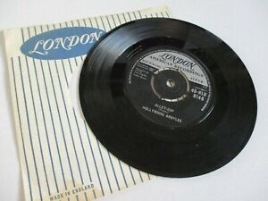 HOLLYWOOD ARGYLES ALLEY-OOP**SHO' KNOW A LOT ABOUT LOVE 1960 LONDON SUPER COPY