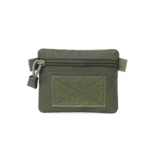 Men's Wallet Key Purse Belt Bag Wasit Bag EDC Molle Pouch Mini Card Pocket Bags
