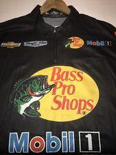 XXL Race Used Tony Stewart Chevy Nascar Pit Crew Shirt Haas Bass Pro Mobil 1