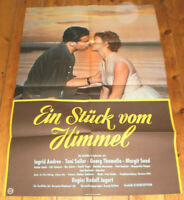 A1. Filmplakat, EIN STÜCK VON HIMMEL ,Toni Sailer, Ingrid Andree