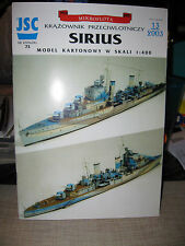 "MIKROFLOTA, LIGHT AA CRUISER ""SIRIUS"" PAPER SHIP KIT"