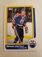 1986-87 Topps #3 Wayne Gretzky HOF Edmonton Oilers MINT