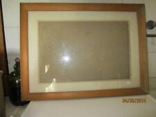 Cadre de tableau en bois avec verre