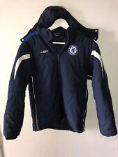 Chelsea FC Umbro Winter Jacket Size XLB 158cm +free flag