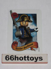 LEGO Pirates of the Caribbean Hector Barbossa Card NEW