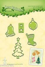Lea'bilities Cutting and Embossing Die - CHRISTMAS ORNAMENTS- Leane 45.0850