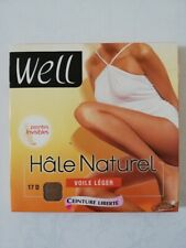 WELL COLLANT HALE NATUREL 17 DEN TAILLE 3 COULEUR HALE CLAIR REF W1076