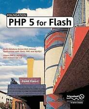 Powers, David, Foundation PHP5 for Flash, Very Good Book