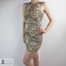 Zara Polyester Short/Mini Stretch, Bodycon Dresses for Women