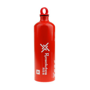 Aluminum Liquid Fuel Bottle Outdoor Camping Stove Gas Oil Containers 750ML