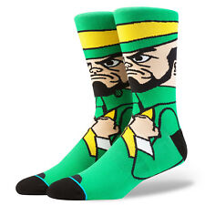 University Of Notre Dame Fighting Irish Mascot Stance Socks NCAA Large Mens 9-12